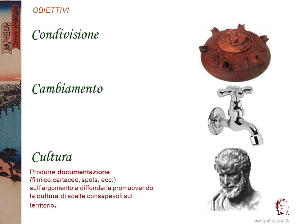 Condivisione Cambiamento Cultura OBIETTIVI