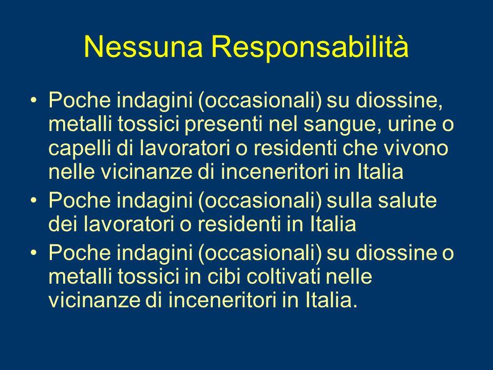 Nessuna Responsabilità
