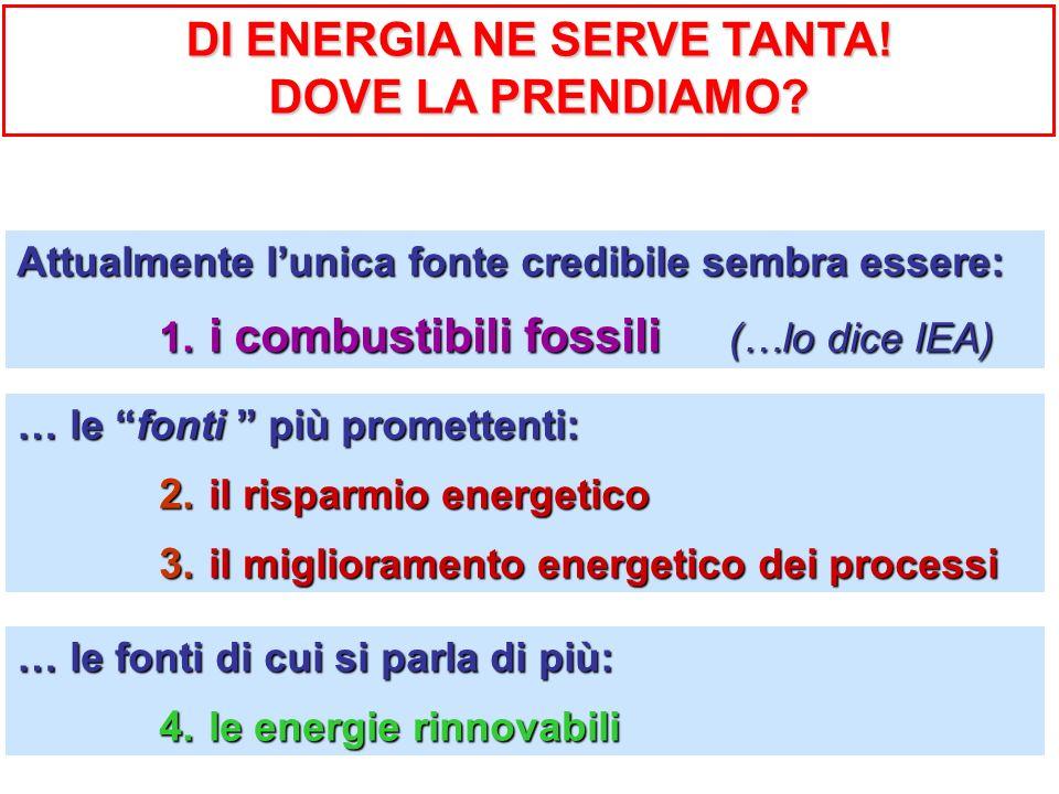 DI ENERGIA NE SERVE TANTA!