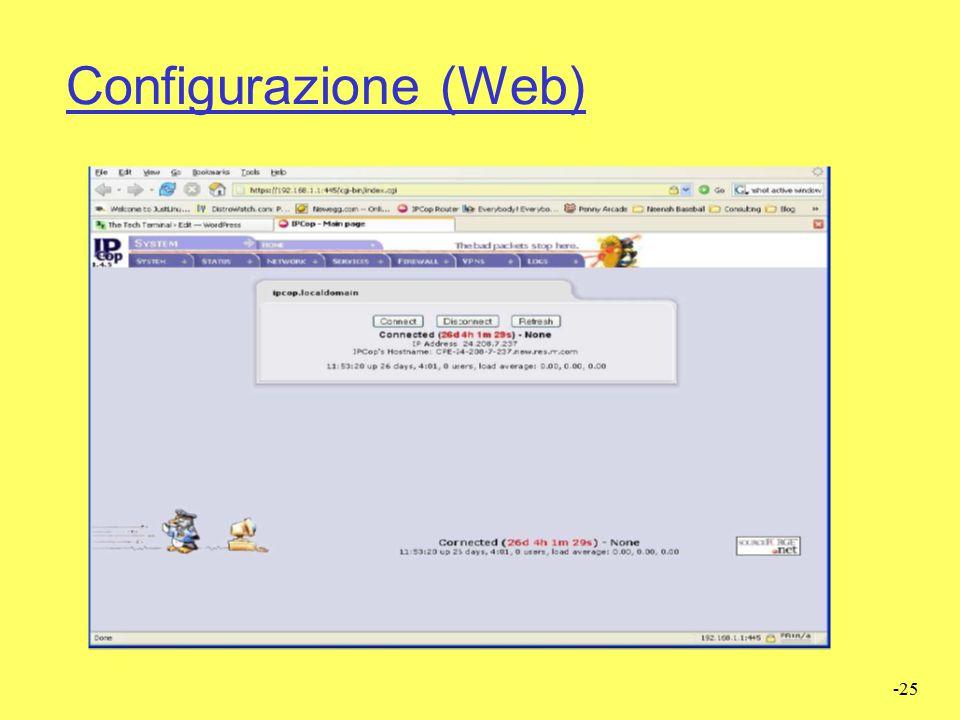 Configurazione (Web)