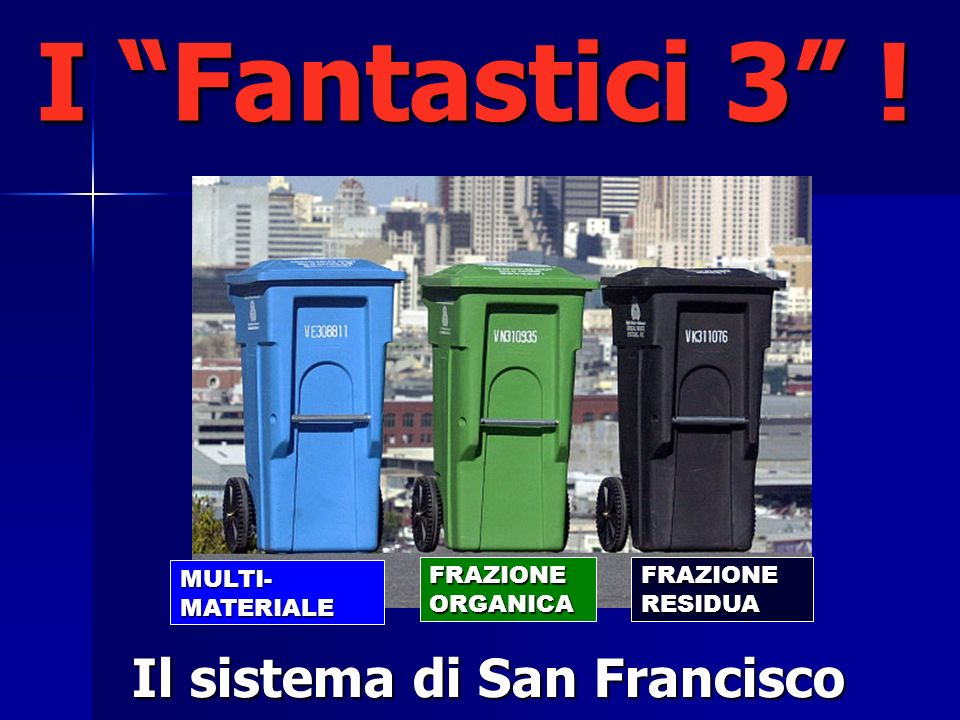 Il sistema di San Francisco