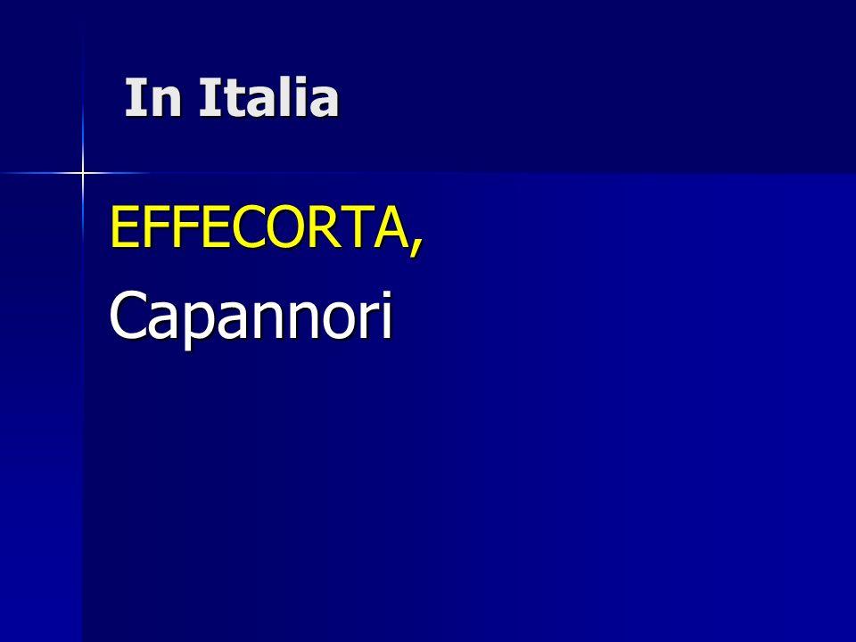In Italia EFFECORTA, Capannori