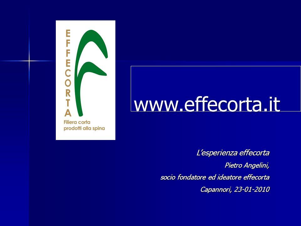 www.effecorta.it.it L'esperienza effecorta Pietro Angelini,