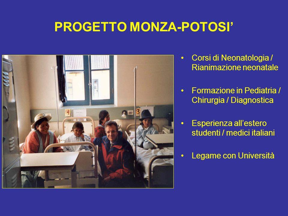 PROGETTO MONZA-POTOSI'