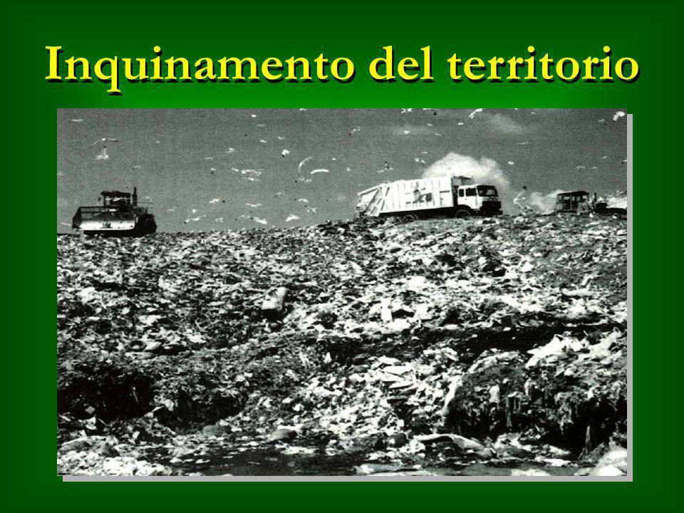 Inquinamento del territorio
