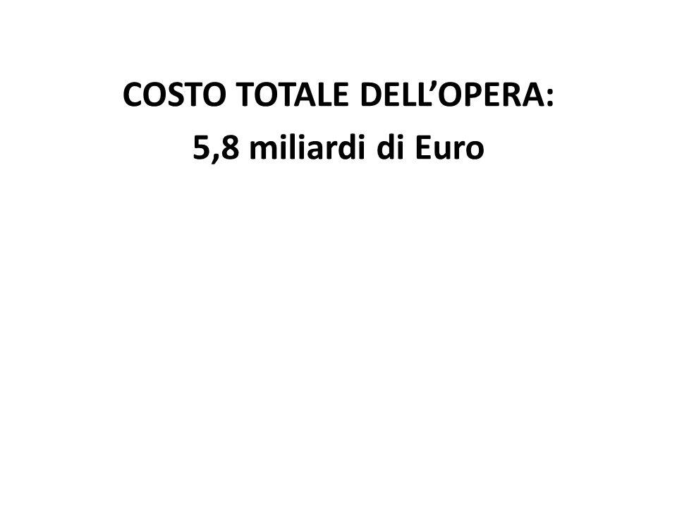 COSTO TOTALE DELL'OPERA: