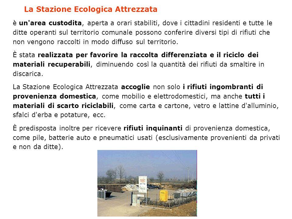 La Stazione Ecologica Attrezzata