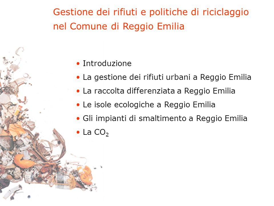 Gestione dei rifiuti e politiche di riciclaggio
