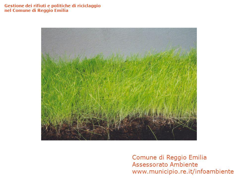 Comune di Reggio Emilia Assessorato Ambiente