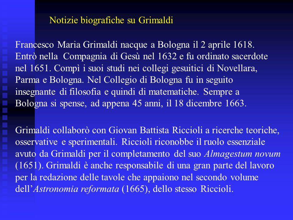 Notizie biografiche su Grimaldi