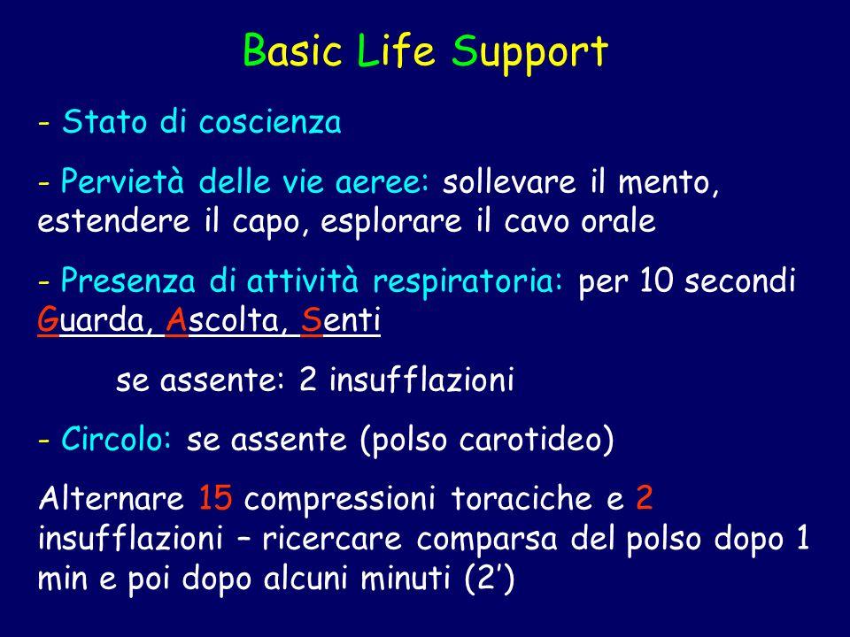 Basic Life Support Stato di coscienza