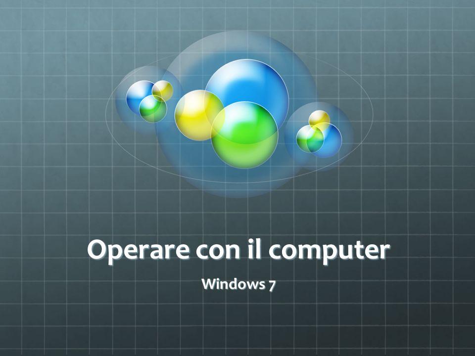 Operare con il computer