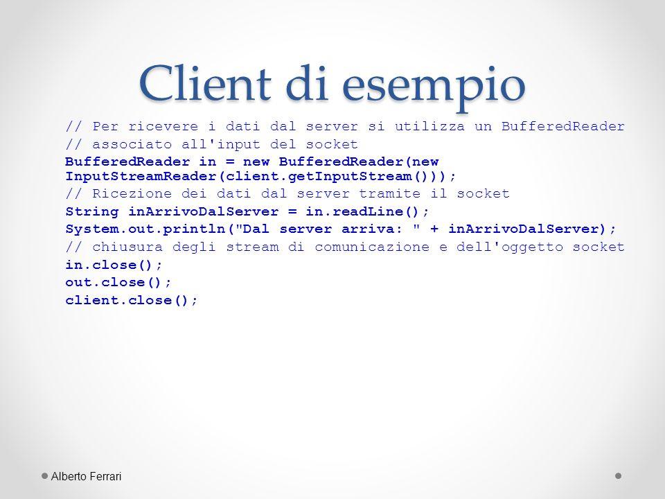 Client di esempio