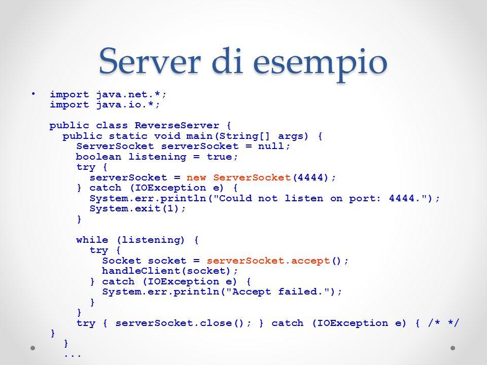 Server di esempio