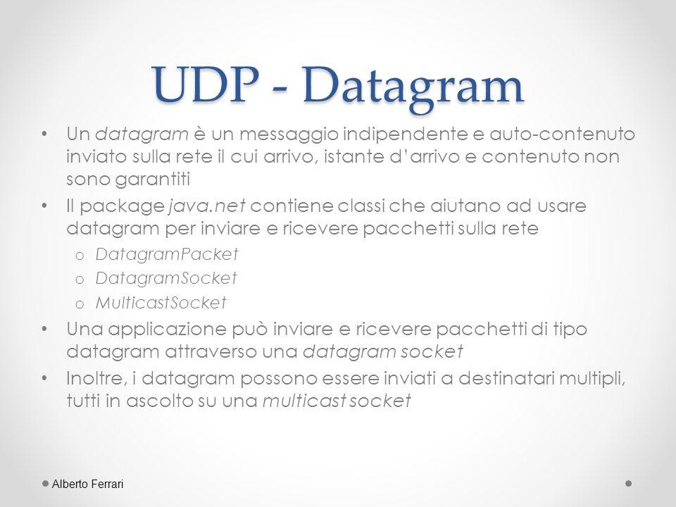UDP - Datagram