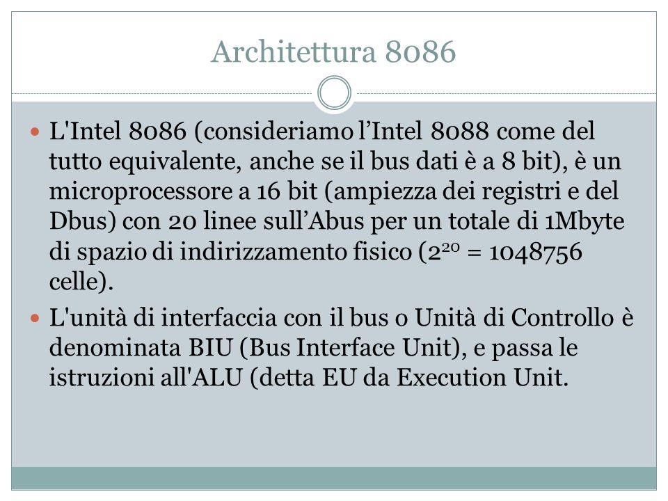 Architettura 8086