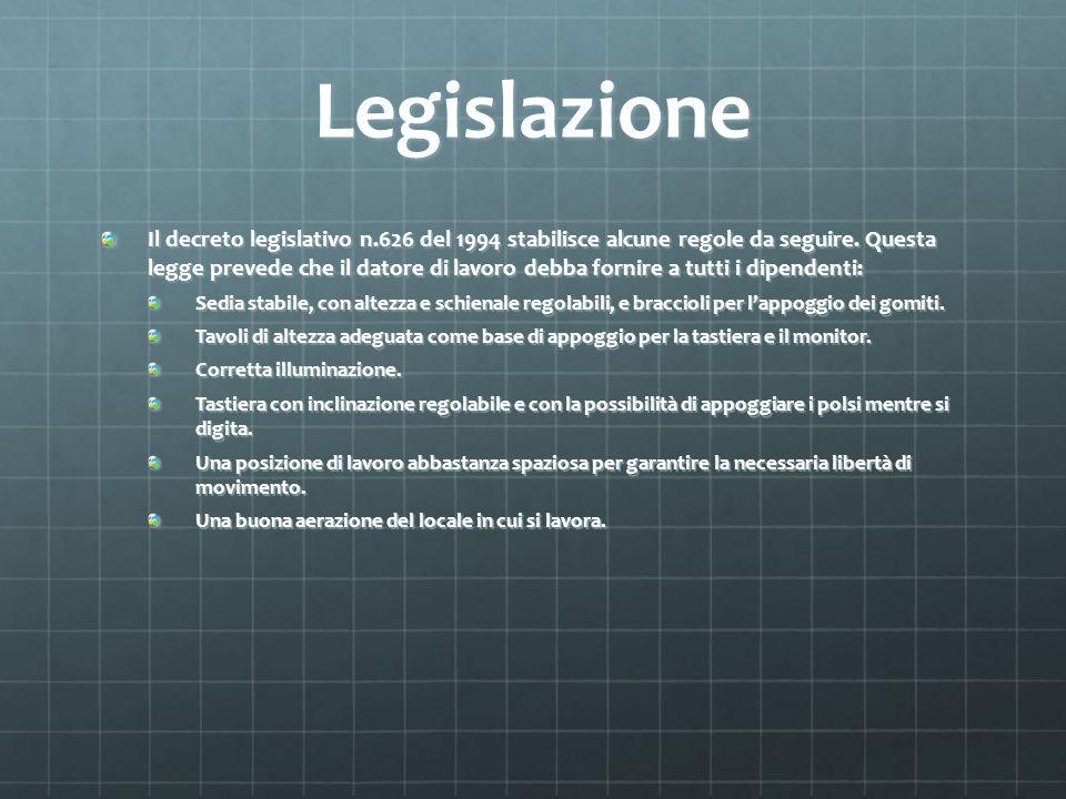 Legislazione