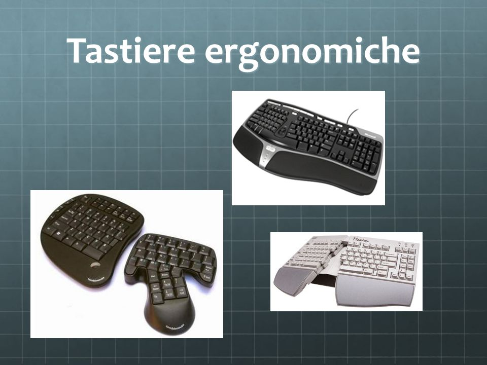 Tastiere ergonomiche