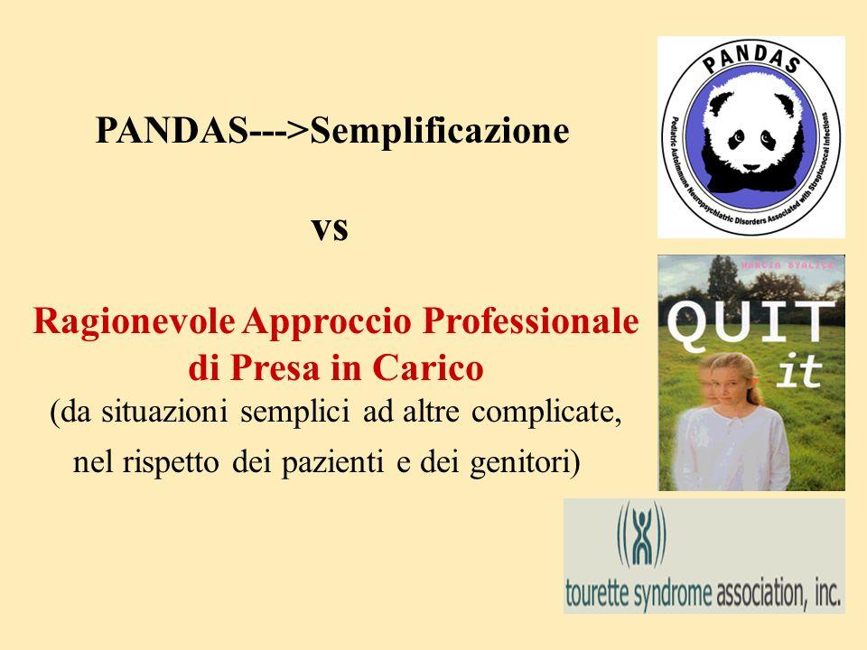 PANDAS--->Semplificazione Ragionevole Approccio Professionale