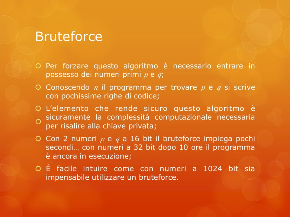 Bruteforce