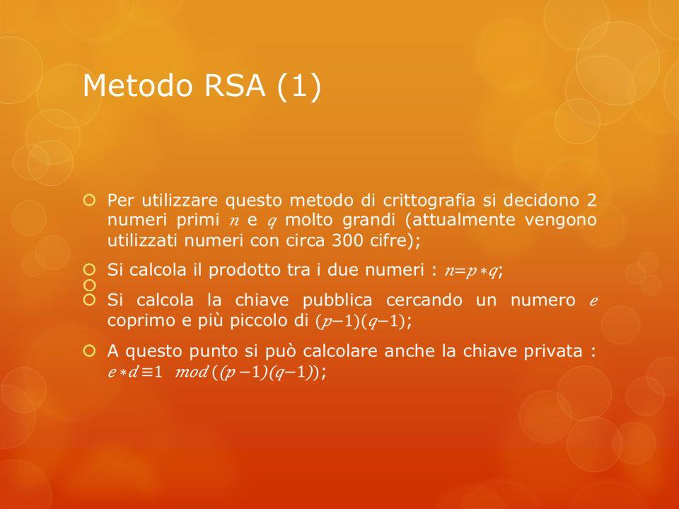 Metodo RSA (1)
