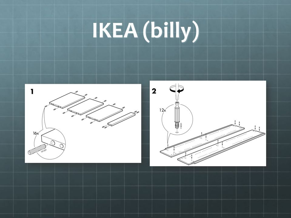 IKEA (billy)