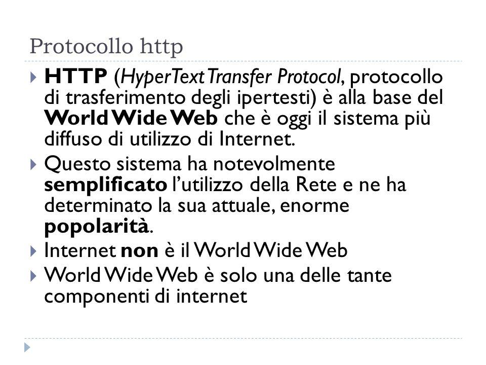 Protocollo http