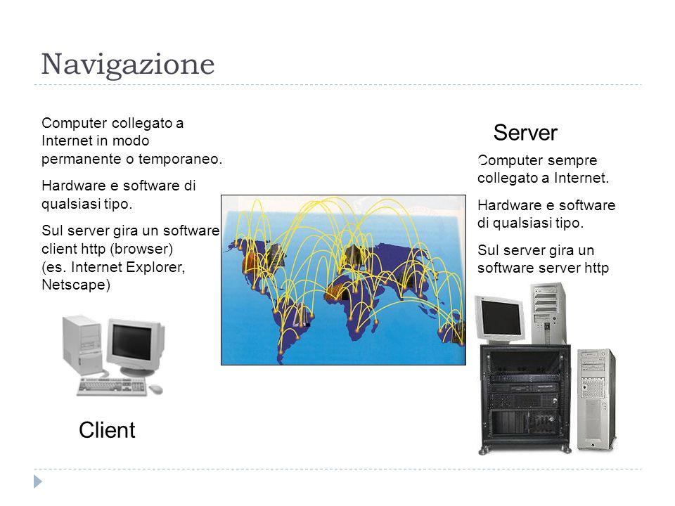 Navigazione Server Client