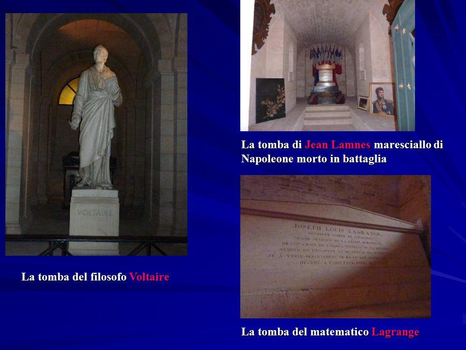 La tomba di Jean Lamnes maresciallo di Napoleone morto in battaglia