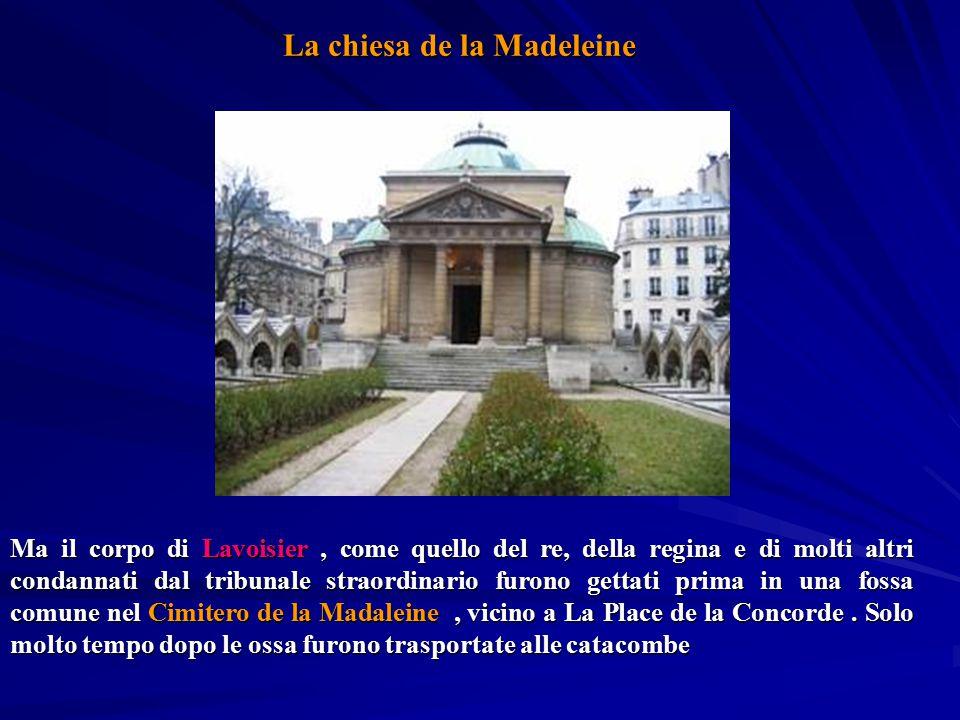 La chiesa de la Madeleine