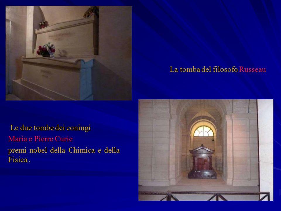 La tomba del filosofo Russeau