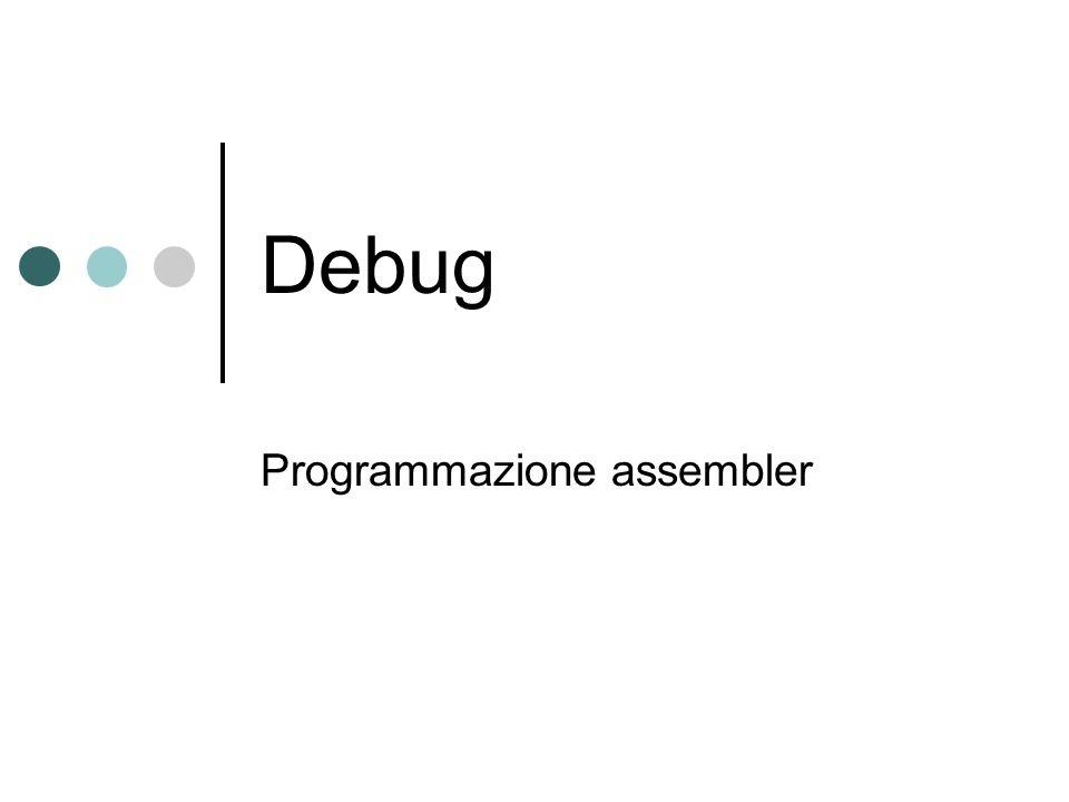 Programmazione assembler