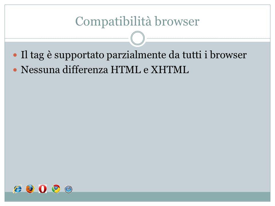 Compatibilità browser