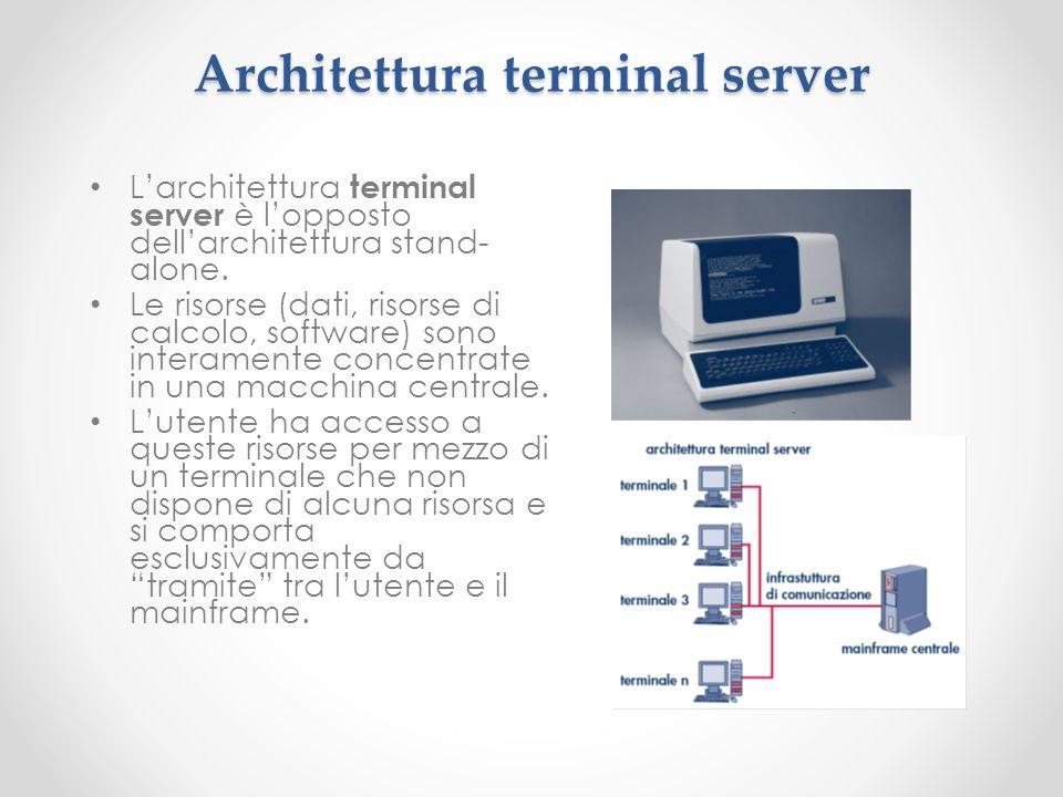 Architettura terminal server
