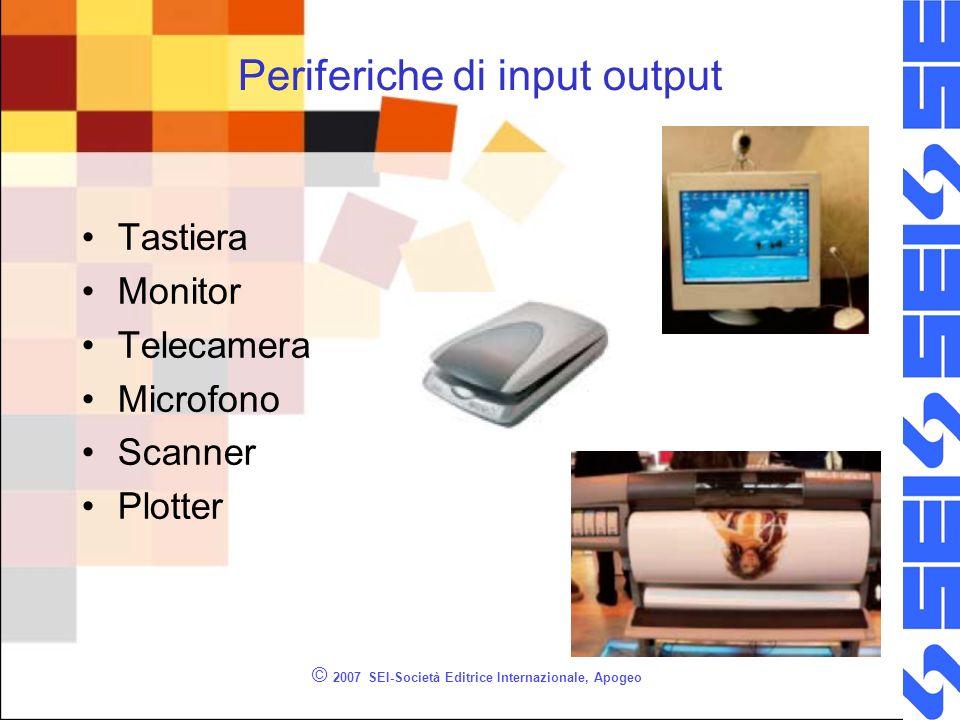Periferiche di input output