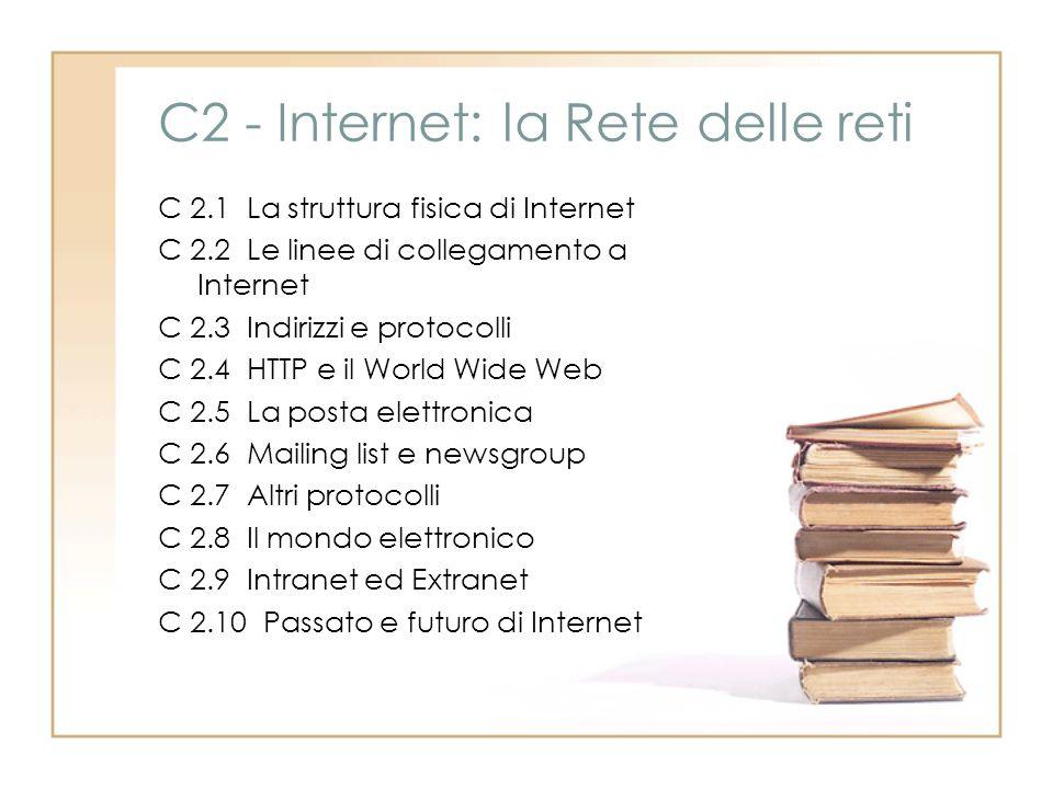 C2 - Internet: la Rete delle reti