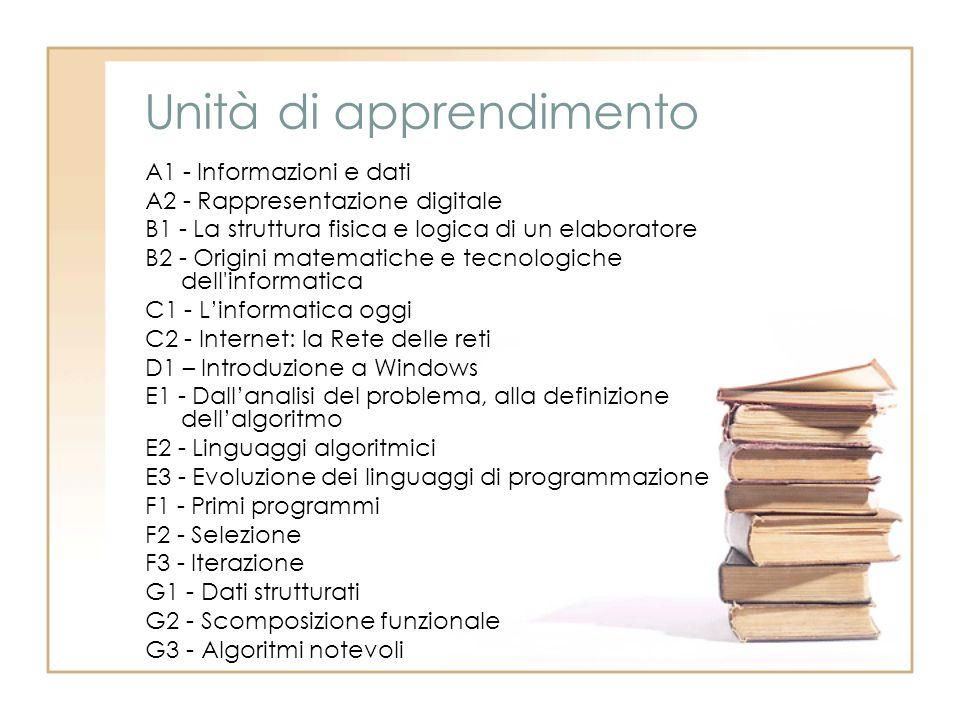 Unità di apprendimento