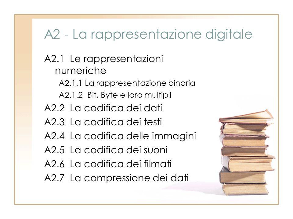 A2 - La rappresentazione digitale