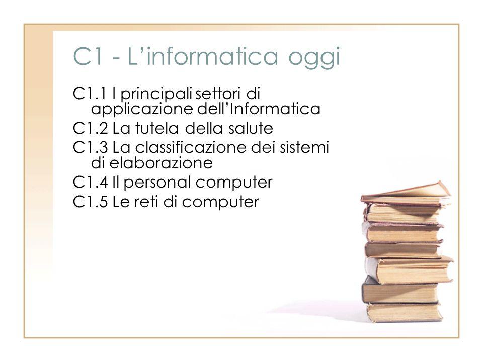 C1 - L'informatica oggi