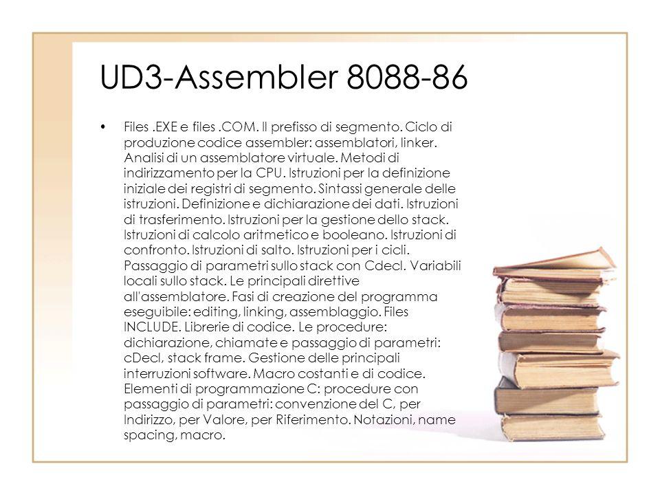 UD3-Assembler 8088-86