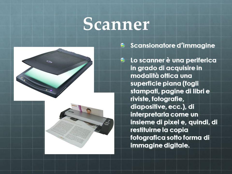 Scanner Scansionatore d'immagine