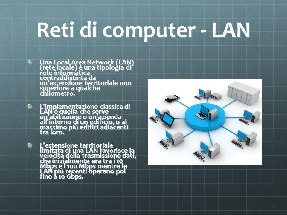 Reti di computer - LAN