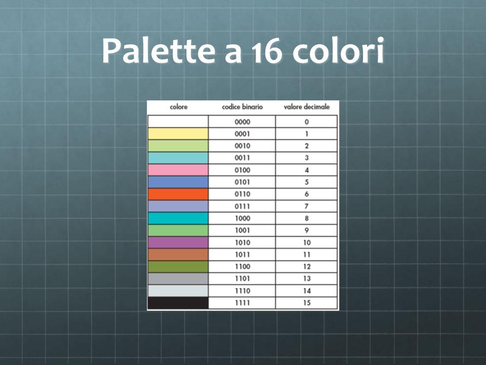 Palette a 16 colori