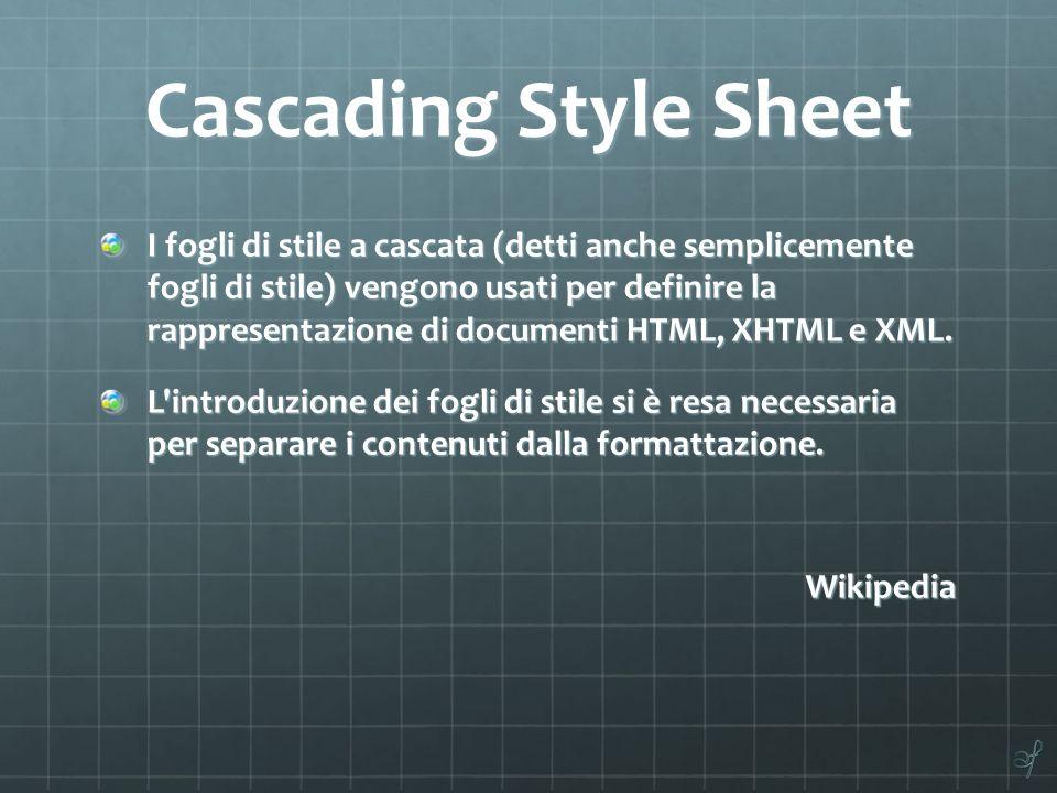 Cascading Style Sheet