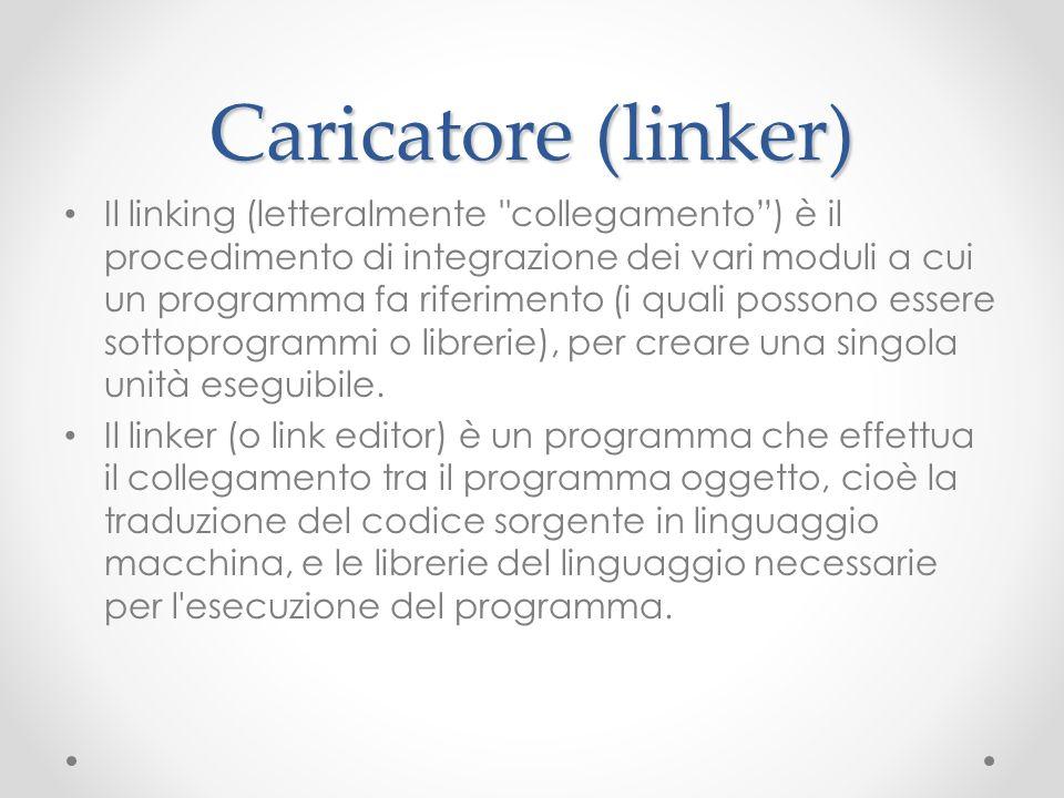 Caricatore (linker)