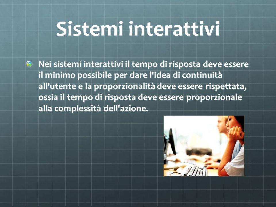 Sistemi interattivi