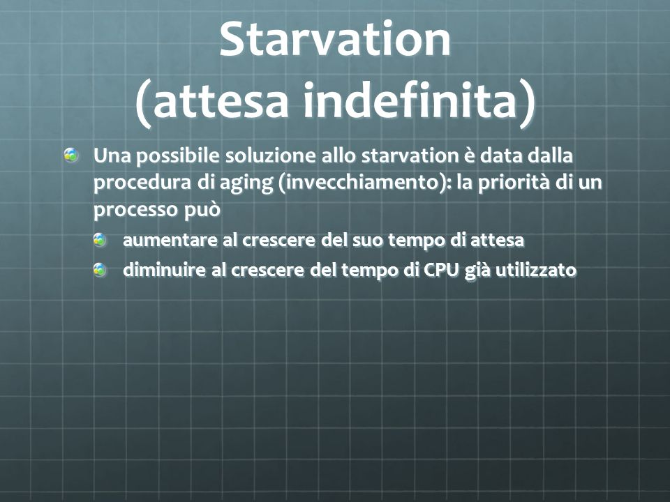 Starvation (attesa indefinita)