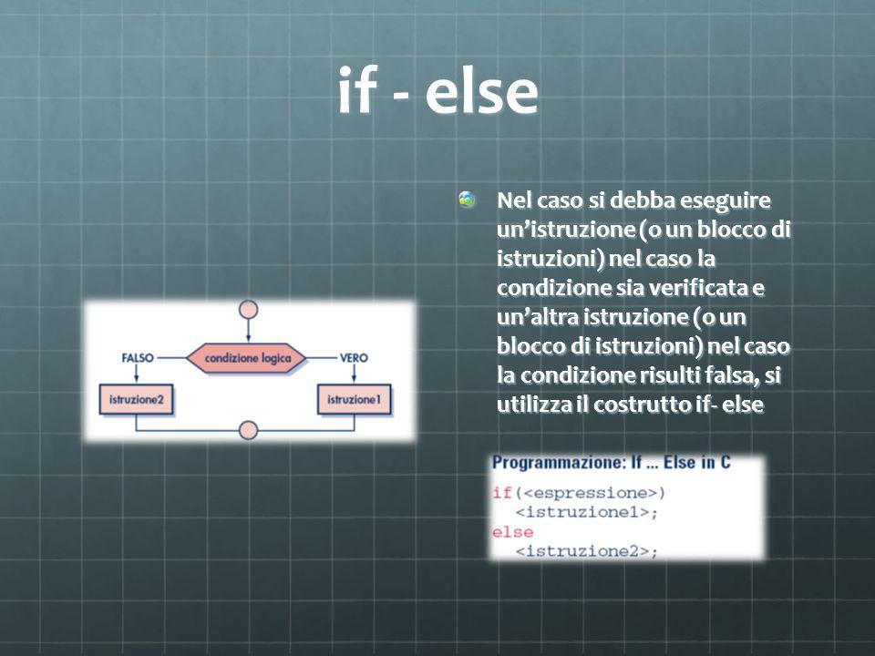 if - else
