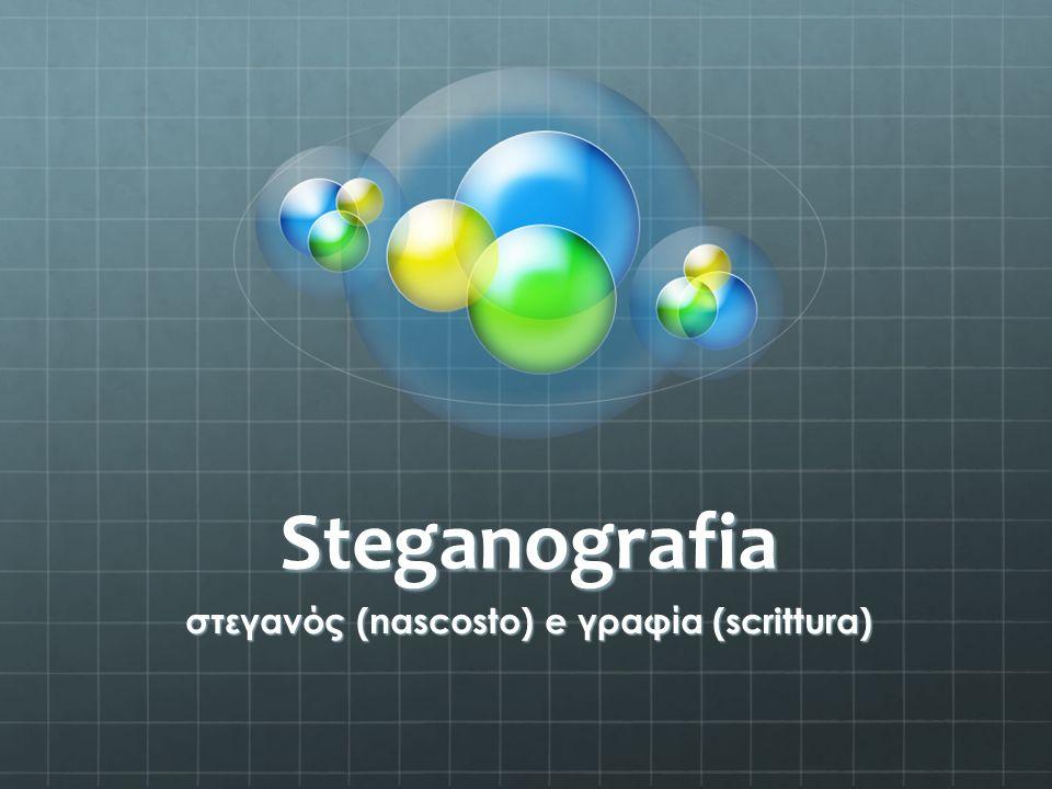 στεγανός (nascosto) e γραφία (scrittura)