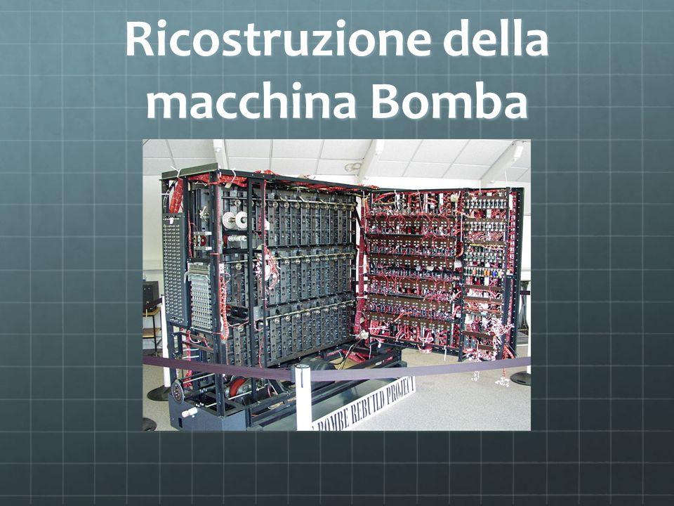 Ricostruzione della macchina Bomba